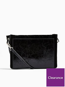 topshop-detour-leather-cross-body-bag-black
