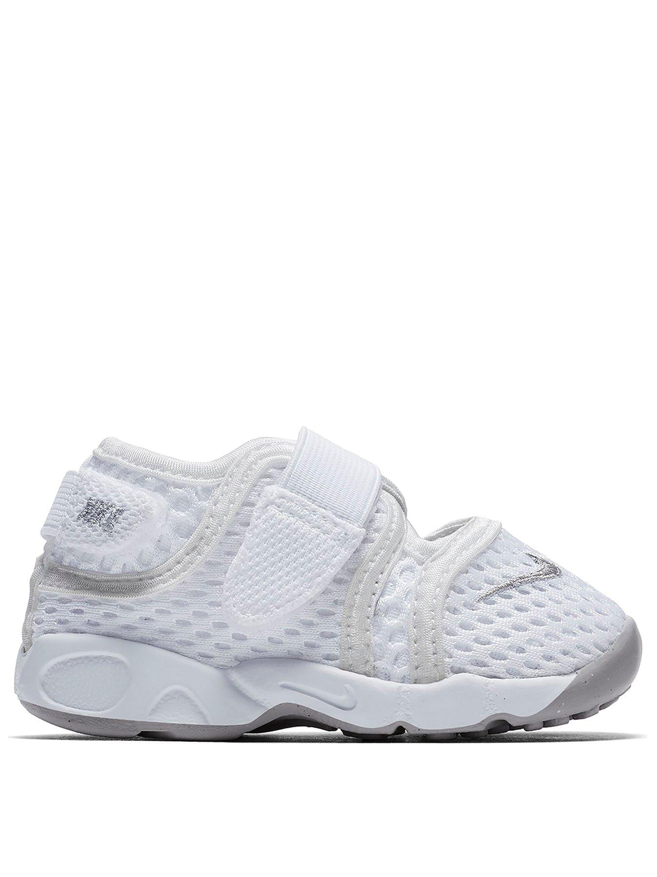 Nike Rift Infants Trainers - White/Grey