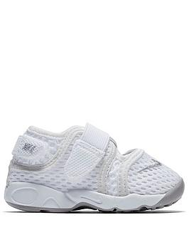 Nike Nike Rift Infants Trainers - White/Grey Picture