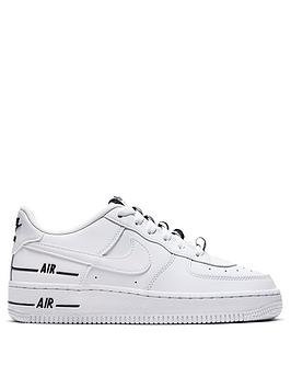 nike-air-force-1-lv8-3-junior-trainers-whiteblack