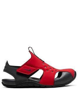 nike-sunray-protect-2nbsppreschool-sandals-redblack