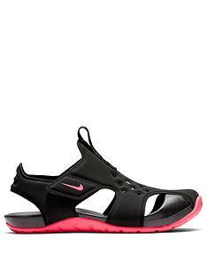 nike-kidsnbspsunray-protect-2nbsppreschool-sandals-blackpink
