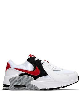 Nike Nike Air Max Excee Childrens Trainers - White/Red Picture