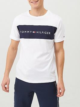 Tommy Hilfiger Tommy Hilfiger Logo Lounge T-Shirt - White Picture