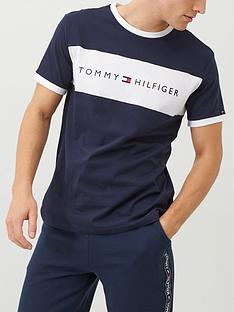 tommy-hilfiger-logo-lounge-t-shirt-navy