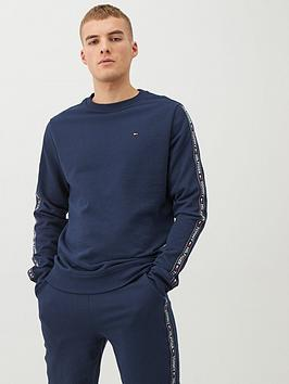 Tommy Hilfiger Tommy Hilfiger Authentic Side Tape Lounge Top - Navy Picture