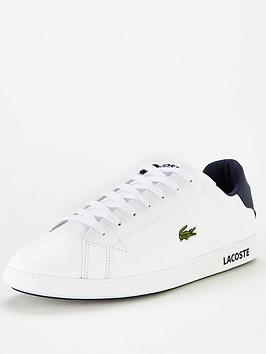 Lacoste Lacoste Lacoste Graduate Lcr3 Leather Trainers Picture