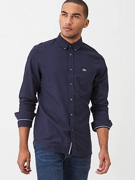 Lacoste Sportswear Lacoste Sportswear Oxford Shirt - Navy Picture