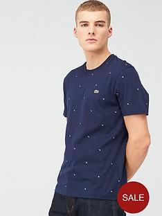 lacoste-sportswear-all-over-mini-print-t-shirt-navy