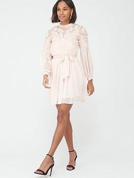 V by Very V By Very Applique Skater Dress Picture