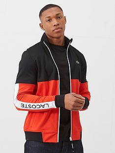 lacoste-sports-colour-block-tech-side-logo-tracksuit-top-redblack