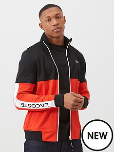 lacoste-sports-colour-block-tech-side-logo-tracksuit-top-redblack