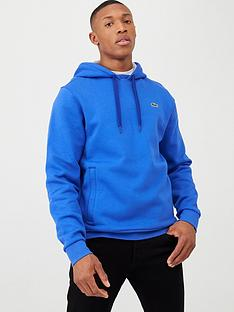 lacoste-sports-sports-classic-overhead-hoodie-blue