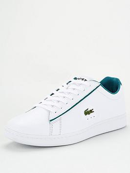 Lacoste Lacoste Carnaby Evo Leather Trainers - White Picture