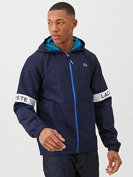 Lacoste Sports Lacoste Sports Arm Logo Zip Through Jacket - Navy Picture