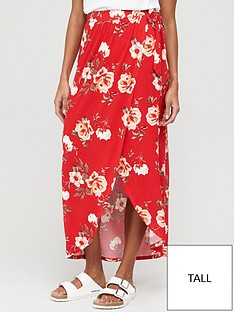 v-by-very-tall-wrap-jersey-maxi-skirt-red