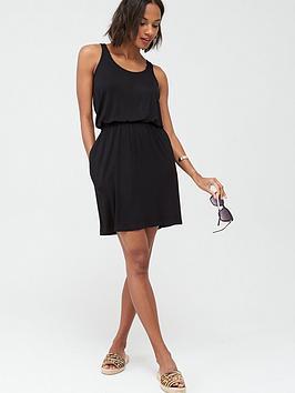 V by Very V By Very Jersey Mini Dress - Black Picture