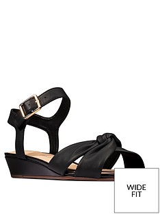 clarks-sense-strap-leather-low-wedge-sandal-blacknbsp