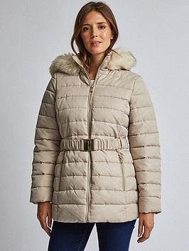 Dorothy Perkins Dorothy Perkins Dorothy Perkins Luxe Short Padded Jacket -  ... Picture