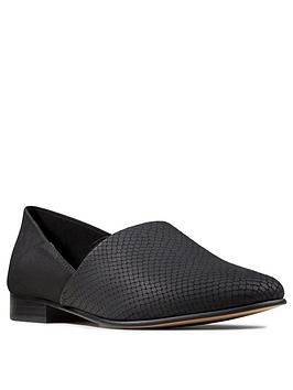 Clarks Clarks Pure Tone Leather Shoes - Black Picture