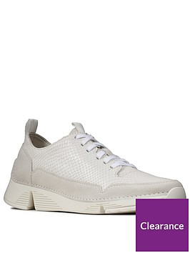 clarks-tri-spark-leather-trainers-white