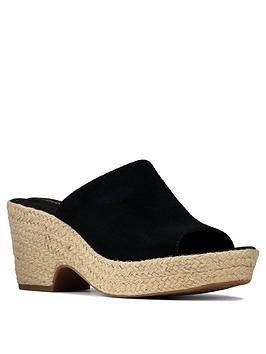 clarks-maritsa-leather-mule-wedge-sandal-black