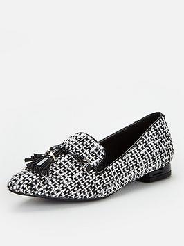 Wallis Wallis Tassel Detail Pointed Shoes - Mono Picture