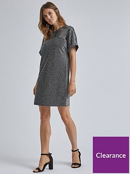 dorothy-perkins-dorothy-perkins-lurex-sequin-shift-dress-silver
