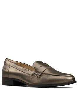 Clarks Clarks Hamble Leather Loafer - Stone Picture