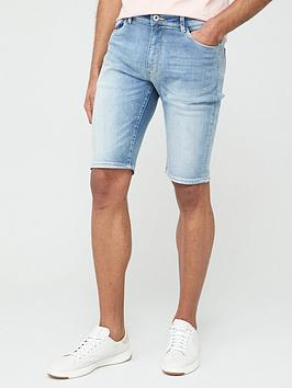 V by Very V By Very Denim Shorts - Light Wash Picture