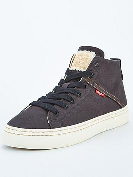 Levi's Levi'S Sherwood High Top Trainer - Black Picture