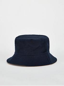 V by Very V By Very Reversible Bucket Hat - Navy/Stone Picture