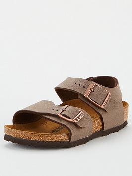 Birkenstock Birkenstock Boys New York Strap Sandals - Mocha Picture