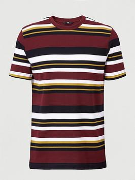 V by Very V By Very Pique Horizontal Stripe T-Shirt Picture