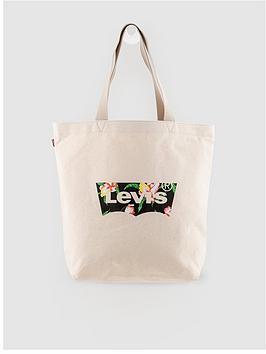 Levi's Levi'S Floral Batwing Tote Bag - Ecru Picture