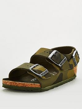 Birkenstock Birkenstock Boys Milano Strap Sandal - Camo Picture