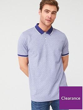 very-man-ditsy-tipped-collar-polo-shirt-blue