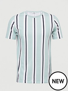 v-by-very-veritcal-stripe-t-shirt-green