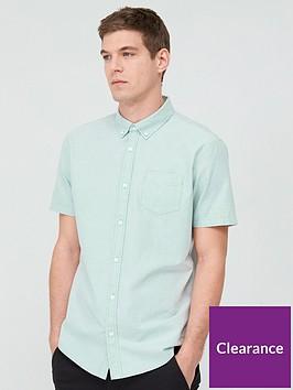 very-man-short-sleeved-button-down-oxford-shirt-mint