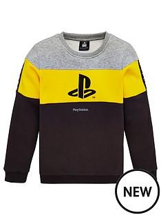 playstation-boys-playstation-panel-sweatshirt-multi