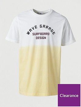very-man-wave-garage-ombre-printed-t-shirt--nbsp-yellow