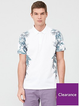 very-man-floral-side-printed-polo-shirt-white