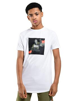Rascal Rascal Colour Pop Camo Box T-Shirt - White Picture
