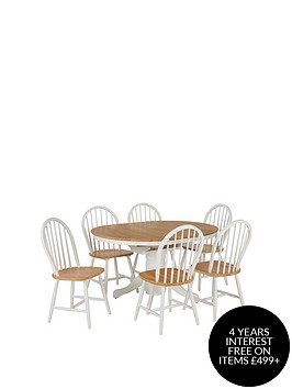 new-kentucky-100-133-cm-extending-dining-table-6-chairs