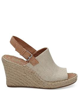 TOMS Toms Monica Wedge Sandal - Natural Picture