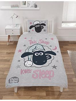 Shaun The Sheep Shaun The Sheep This Sheep Loves Sleep Single Duvet Cover  ... Picture