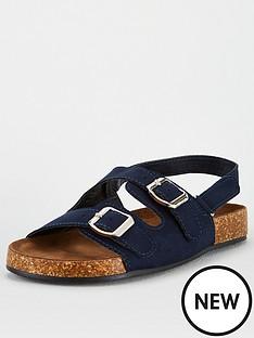 v-by-very-older-boys-footbed-sandal-navy