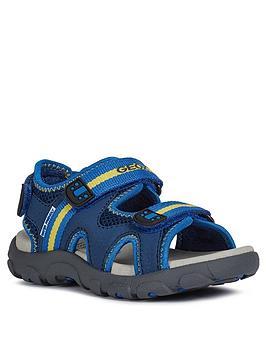 Geox Geox Boys Strada Sandal - Blue Picture