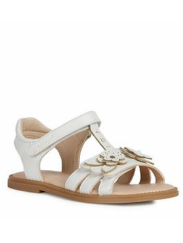 Geox Geox Girls Karly Sandal - White Picture