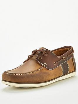 Barbour Barbour Capstan Leather Boat Shoes - Tan Picture